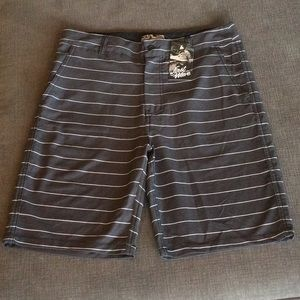 NWT First Wave Stripe Shorts